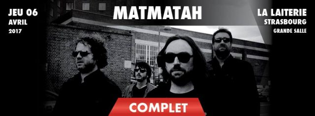 Matmatah + The Moon Drivers @La Laiterie