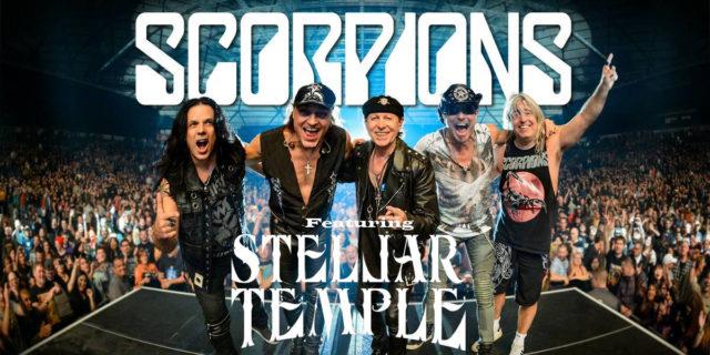 Scorpions choisissent Stellar Temple!