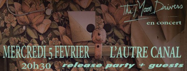 Release party du nouvel album de The Moon Drivers