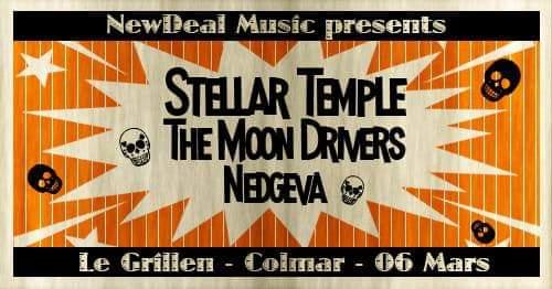 STELLAR TEMPLE live au Grillen (+guests)
